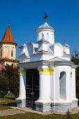 picture of saint-nicolas  - Small religious building at terriroty of Saint Nicholas Church in Brasov  - JPG