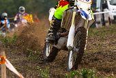 image of motocross  - Motocross bikes street racing on the mountain - JPG