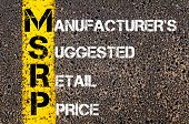 picture of suggestive  - Business Acronym MSRP - Manufacturer
