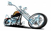 Постер, плакат: Custom American Chopper Motorcycle