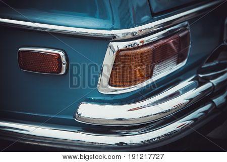 Headlights and body