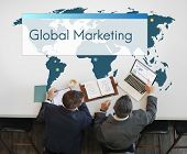 Global Marketing Business Collaboration International poster