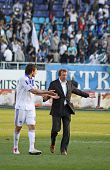 Goran Popov And Yuriy Semin of Dynamo Kyiv