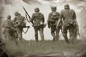 pic of ww2  - German soldiers - JPG