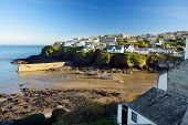 Port Isaac, A Small And Picturesque Fishing Village On The Atlantic Coast Of North Cornwall, England poster