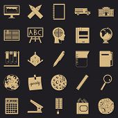 Survey Icons Set. Simple Set Of 25 Survey Vector Icons For Web For Any Design poster