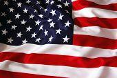 image of american flags  - American Flag - JPG