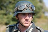 stock photo of ww2  - German soldier  - JPG