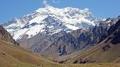 picture of aconcagua  - Summit of Aconcagua - JPG