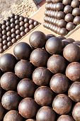 stock photo of cannonball  - Cannonballs near Prince - JPG