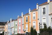 foto of urbanisation  - Colorful apartment building in Andalusia southern Spain - JPG