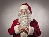 foto of cunning  - Santa Claus winking - JPG