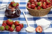 Cooking Strawberry Jam