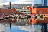 foto of west midlands  - Birmingham water canal network  - JPG