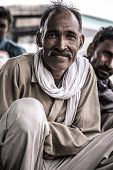 ������, ������: Portrait Of A Man In India