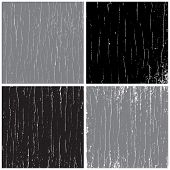 Vector Distressed Scratch Set. Put over any design to create distressed effect.