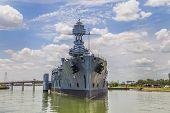 image of battleship  - The Famous historic Dreadnought Battleship in Texas - JPG