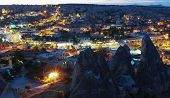 image of goreme  - Sunset in Goreme. Cappadocia, Turkey, september 2013