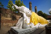 The Reclining Buddha Image
