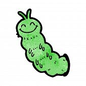 picture of caterpillar cartoon  - cartoon caterpillar - JPG