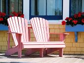 Summer Deck Chairs poster