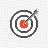 image of bullseye  - hit the bullseye - JPG