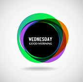 foto of weekdays  - Good Morning Wednesday - JPG