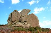 stock photo of megaliths  - Megaliths Argimusco  - JPG