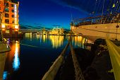 image of tall ship  - BERGEN NORWAY  - JPG