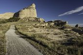 picture of nebraska  - Scotts Bluff National Monument is located in western Nebraska - JPG