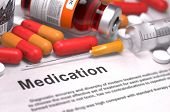 stock photo of medical injection  - Medication  - JPG