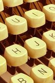 pic of groping  - an old typewriter keyboard - JPG