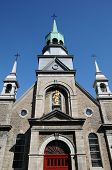 stock photo of chapels  - Canada the chapel Notre Dame de Bon Secours in Montreal - JPG