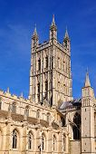 stock photo of trinity  - Cathedral church of St Peter and the Holy and Indivisible Trinity Gloucester Gloucestershire England UK Western Europe - JPG