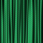 picture of lace-curtain  - Curtain green lace generated texture or background - JPG