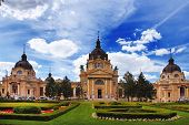 picture of thermal  - The famous Szechenyi  - JPG