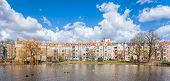 stock photo of municipal  - Panoramic view of Szczecin Niebuszewo Bolinko municipal neighbourhood Poland - JPG