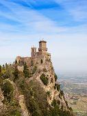 stock photo of apennines  - Rocca Della Guaita - JPG