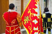 picture of parade  - Detail of an historical parade in Molfetta - JPG