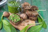 image of pesto sauce  - Ramson - JPG