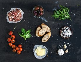 picture of black-cherry  - Ingredients for sandwich with smoked meat - JPG