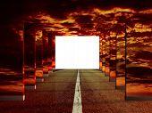 foto of open door  - Concept  - JPG