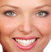 Постер, плакат: Женщина улыбка