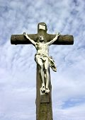 foto of inri  - jesus on cross - JPG