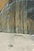 stock photo of gneiss  - Sticks and stones might break my bones - JPG