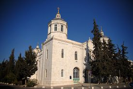 picture of trinity  - The Holy Trinity church in the Russian Compound Jerusalem Israel - JPG