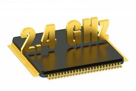 stock photo of cpu  - CPU chip for smatphone and tablet 2 - JPG