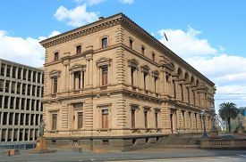 picture of treasury  - Historical Architecture Old Treasury Building Melbourne Australia - JPG