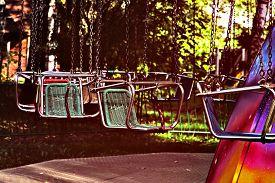 image of merry-go-round  - Vacant merry - JPG