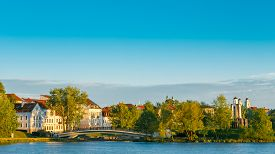 foto of trinity  - The Trinity Hill is oldest surviving district of Minsk  - JPG